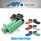 M-Grip Billet 40mm Rider Extended Foot Pegs Fit Yamaha MT-07 2013 13 14 15