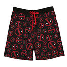 Marvel Comics Deadpool Men's Board Shorts