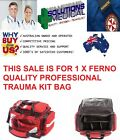 FERNO 5107 PROFESSIONAL TRAUMA KIT BAG ONLY NO CONTENTS QUALITY ITEM