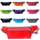 Fanny Pack Waterproof Zip Bag Waist Pouch 9 Colors Running Camping Belt Bum