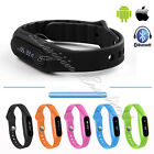 Bluetooth 4.0 IP67 Waterproof Smart Bracelet Sport Wristband Watch Android IOS