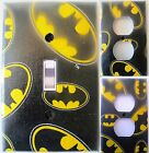 BATMAN Logo custom Light Switch and outlets wall plate covers