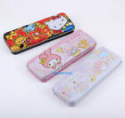 2015 SARIO HELLO KITTY LITTLE TWINS STAR 2 LAYERS METAL PENCIL CASE