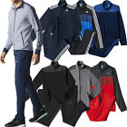 ADIDAS TRACKSUIT FULL SET TRACKSUIT JACKET TOP AND TRACK JOGGING JOGGER BOTTOMS