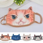 Unisex Creative Cute 3D Cat Face Cycling Cotton Warm Mask Anti-Dust Masks