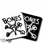 "BONES / POWELL PERALTA ""Vato Op Square"" Skateboard Sticker 4"" Black or White x1"