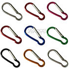 5x Aluminum Lock Carabiner Clip Snap Hook Screw Keychain Camping Outdoor Gourd