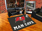 Tampa Bay Buccaneers Man Cave Area Rug Choose Size