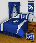 Tampa Bay Lightning Comforter Sham & Valance Twin Full Queen King Size