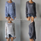 New Hollister Womens Hco Open Stitch Long Length Sweater