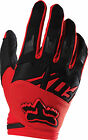 Fox Racing Mens & Youth Red/Black Dirtpaw Race Dirt Bike Gloves MX ATV 2016
