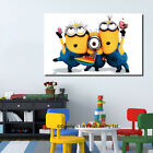 Despicable Me 2 Minions Stretched Canvas Print Framed Kids Wall Art Painting DIY