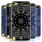 HEAD CASE CLASSIC PAISLEY BANDANA SOFT GEL CASE FOR APPLE iPOD TOUCH 6G 6TH GEN