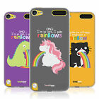 HEAD CASE RAINBOW PUKE SOFT GEL CASE FOR APPLE iPOD TOUCH 6G 6TH GEN