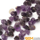 "15-18mm Natural Freefrom Jewelry Making Gemstone Loose Beads 15""  6 Materials"