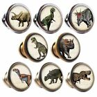 Zinc Alloy Knobs Dinosaurs 30mm Cupboard Drawer Door Handles Decorated