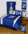 Tampa Bay Lightning Bed in a Bag Curtains Valance Twin Full Queen King Size