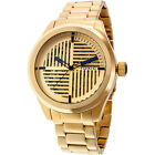 Toxic Edge TX70380-A Men's Watch with Gold Stainless Steel Band