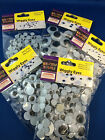 googly wiggly craft eyes 4 sizes or variety pack stick with glue embellishments