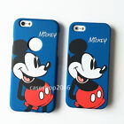 Cute Cartoon disney blue mickey mouse fullbody case cover for iphone 6 6S plus
