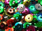 Купить Lot of 1,600 Loose Shiny Faceted Plastic 6mm Cup Sequins Embellishment Beads