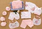 18pcs/Set Newborn Baby Clothes Girls Boys Clothing Set Cute infant Outfits Suit