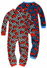 Boys Official Disney Pixar Cars Printed Onesie New Kids Sleepwear Ages 2-5 Years