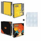 ULTRA PRO OFFICIAL POKEMON A4 RING BINDER WITH OR WITHOUT PAGES -ALBUM,PORTFOLIO