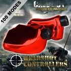 New TGC Custom Xbox One Controller LT RT Chrome Red Trigger Stops