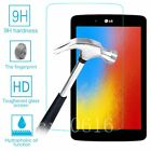 9H Premium Tempered Glass Anti-Scratch Screen Protector Film For LG Tablet PC