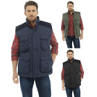 Mens Lined Padded Gilet Bodywarmer Body Coat Country Hunting Shooting