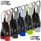 Lotas Mens Pro Cycling Bib Short With Coolmax Padding Cycle Tight Pant Shorts