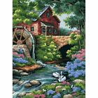 Dimensions Needlecrafts Needlepoint,  Old Mill Cottage NIP $36 16X12