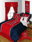Los Angeles Angels Comforter Bedskirt Sham & Pillowcase Twin to King Size