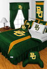 Baylor Bears Bed in a Bag - Drapes & Valance Twin Full Queen King Size