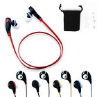 Sports Wireless Stereo Bluetooth 4.0 Headset Headphone Earphone For Smartphone