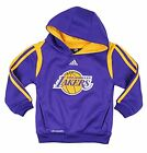 Adidas NBA Toddlers Los Angeles Lakers On Court Pullover Hoodie, Purple