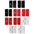 OFFICIAL LIVERPOOL FC LFC LIVER BIRD LEATHER BOOK CASE FOR APPLE iPHONE PHONES