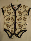 MAJESTIC 3-6 or 6/9 Month MLB Chicago White Sox Baby Bodysuit Top NWT