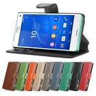 JAMMYLIZARD Retro Leather Wallet Flip Case Cover For Sony Xperia Z3 Compact