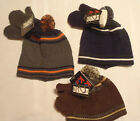 KOZY KIDS By GRAND SIERRA Winter ACRYLIC Winter Hat Mitten Choice Blue Gray NWT