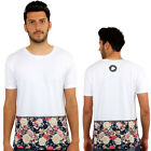 Floral Roses 3D Print Fitted T-Shirt Urban life Monkey Business Hip Hop Top