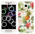 Summer Sketch Soft Silicone Gel Back Case Cover For Motorola G2 (2nd Gen) *SALE*