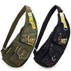 Men outdoor Travel Sport Chest Messenger bag Shoulder bag Hiking Sling Backpack