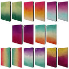 HEAD CASE DESIGNS WATERCOLOURED OMBRE LEATHER BOOK WALLET CASE FOR APPLE iPAD