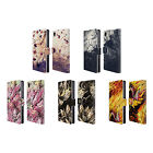 HEAD CASE DESIGNS FLORAL DRIPS LEATHER BOOK WALLET CASE COVER FOR SONY PHONES 1