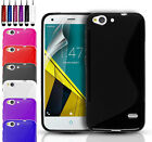 ULTRA THIN SILICONE GEL CASE COVER & SCREEN PROTECTOR FOR VODAFONE SMART ULTRA 6