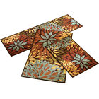 Collections Etc Floral Cleopatra Accent Rug