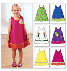 Butterick Toddlers / Childrens Sewing Pattern 3772 Dress
