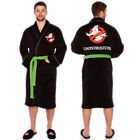 MENS CLASSIC GHOSTBUSTERS FLEECE WARM BATHROBE THICK PLUSH DRESSING GOWN ROBE